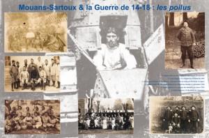 Mouans-Sartoux guerre 14-18 exposition crdo
