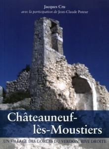 Châteauneuf-les-Moustiers Provence histoire