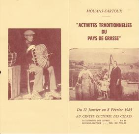 Grasse artisans traditionnels crdo Provence