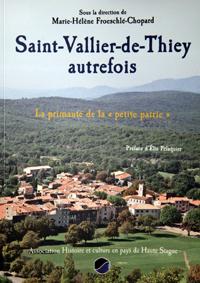 Saint-Vallier Provence livre