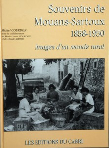 Mouans-Sartoux Provence photos anciennes souvenirs mémoire