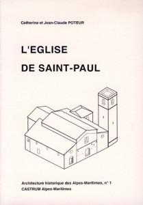 Saint-Paul archéologie Provence église castrum