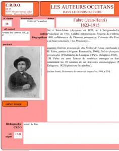 Henri Fabre occitan auteur