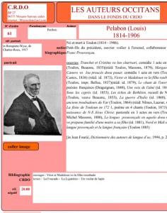 Louis Pelabon auteur occitan